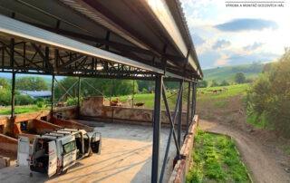 Szénatároló javítása – Tarnóc
